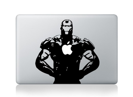 Iron Man Macbook Decal and sticker