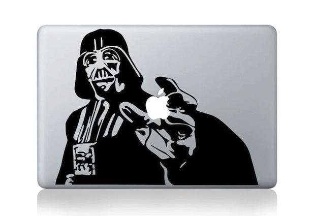 Darth Vader Macbook Decal and sticker