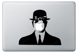 Son of man macbook sticker and decal