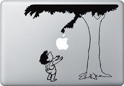 The Giving Tree macbook sticker and decal