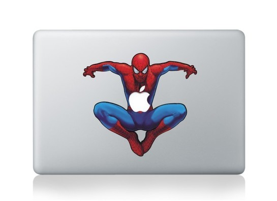 Spiderman Macbook Decal and sticker
