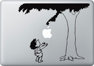 The Giving Tree Macbook Decal and Sticker