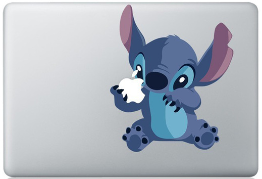 lilo and stitch macbook sticker